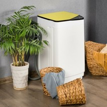 Full-automatic Washing Machine 7.7 lbs Washer / Spinner Germicidal-Yello... - $337.42
