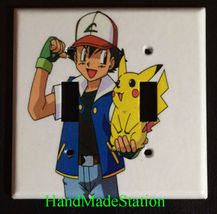 Pokemon & Pikachu Light Switch Duplex Outlet wall Cover Plate home decor image 3