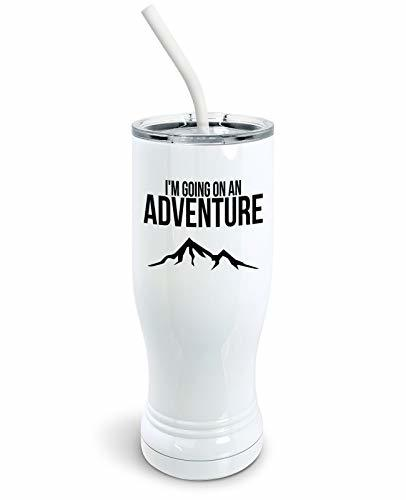 Primary image for PixiDoodle I'm Going on an Adventure - Mountain Climbing Vacation Pilsner Tumble