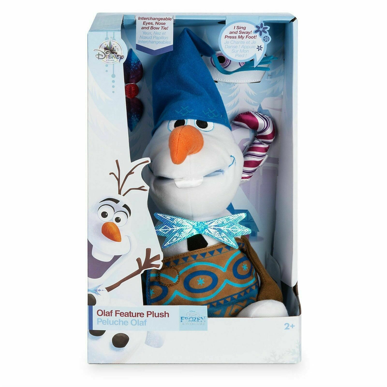 "Primary image for Disney Store Olaf's Frozen Adventure Plush Talking Olaf Small 10"" Stuffed Toy"