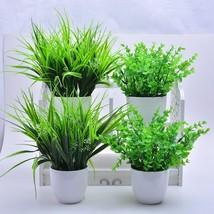 2018 New 5 Types Artificial Grasses Plastic Plant Fake Grass Home Decora... - $4.50