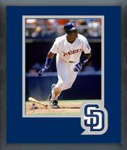 Tony Gwynn San Diego Padres Circa 1993 -11x14 Team Logo Matted/Framed Photo - $43.55