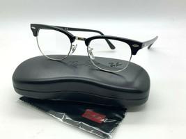 New Ray Ban Eyeglass Frames Rx 5154 2000 BLACK/SILVER 49-21-140MM /CASE - $77.57