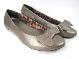 Clarks Bendables Ballet Flat Gold Metalic Leopard  Womens Size 9 M - $23.76