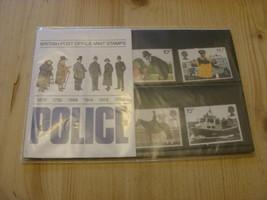 Commemorative Stamp Set:  British Police   1979 - $3.15