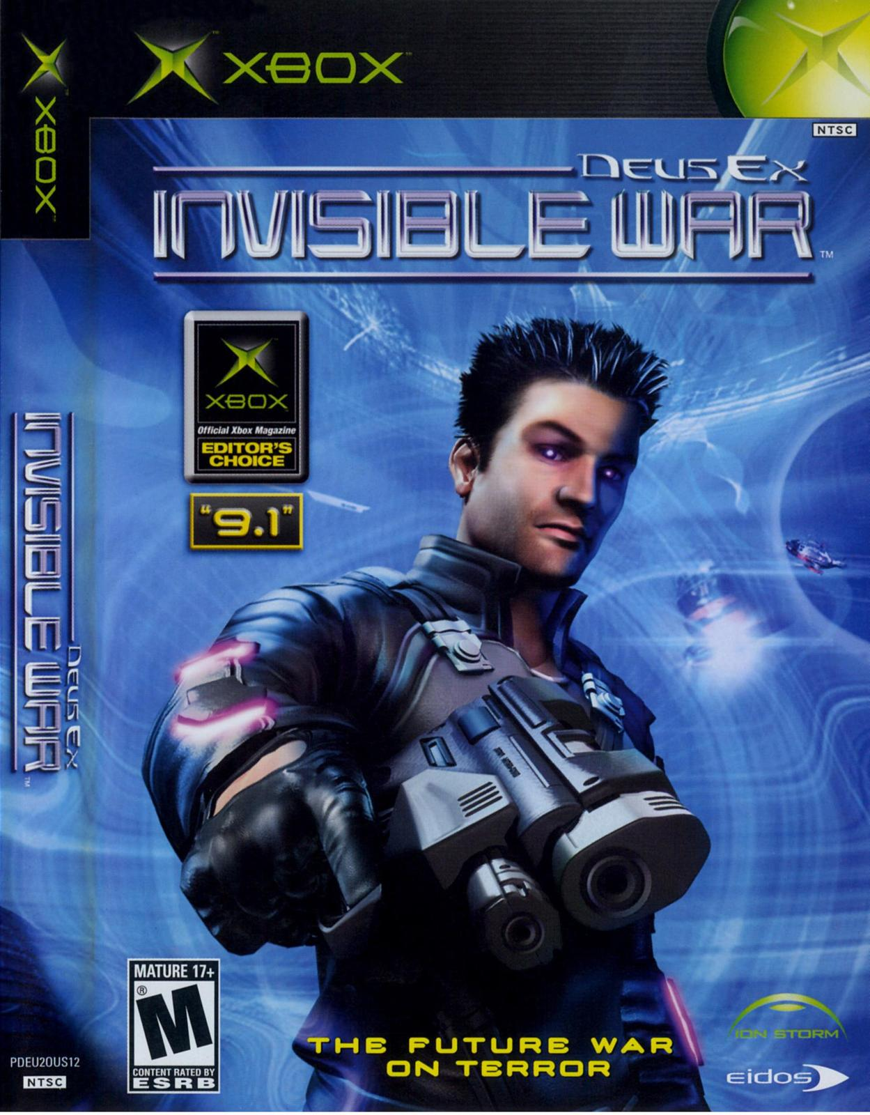 Primary image for  Deus Ex Invisible War Xbox OG  With Case