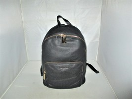 Michael Kors Wythe Large Pebbled Leather Backpack, Book Bag $298 Black - $129.99