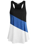 Becanbe Going Out Tops for Women,Girls Athletic Rackerback Tank Sleevele... - $16.07
