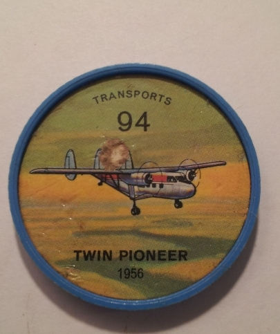 Primary image for Jello Picture Discs -- #94  of 200 - The Twin Pioneer