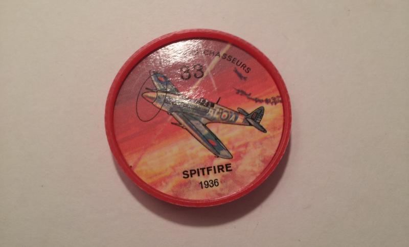 Jello Picture Discs -- #83  of 200 - The Spitfire