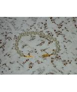 Vintage Pearl Bracelet Stamped Japan  - $8.00