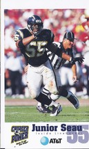 JUNIOR SEAU # 55 NFL Inside Linebacker AT&T Card - $3.95
