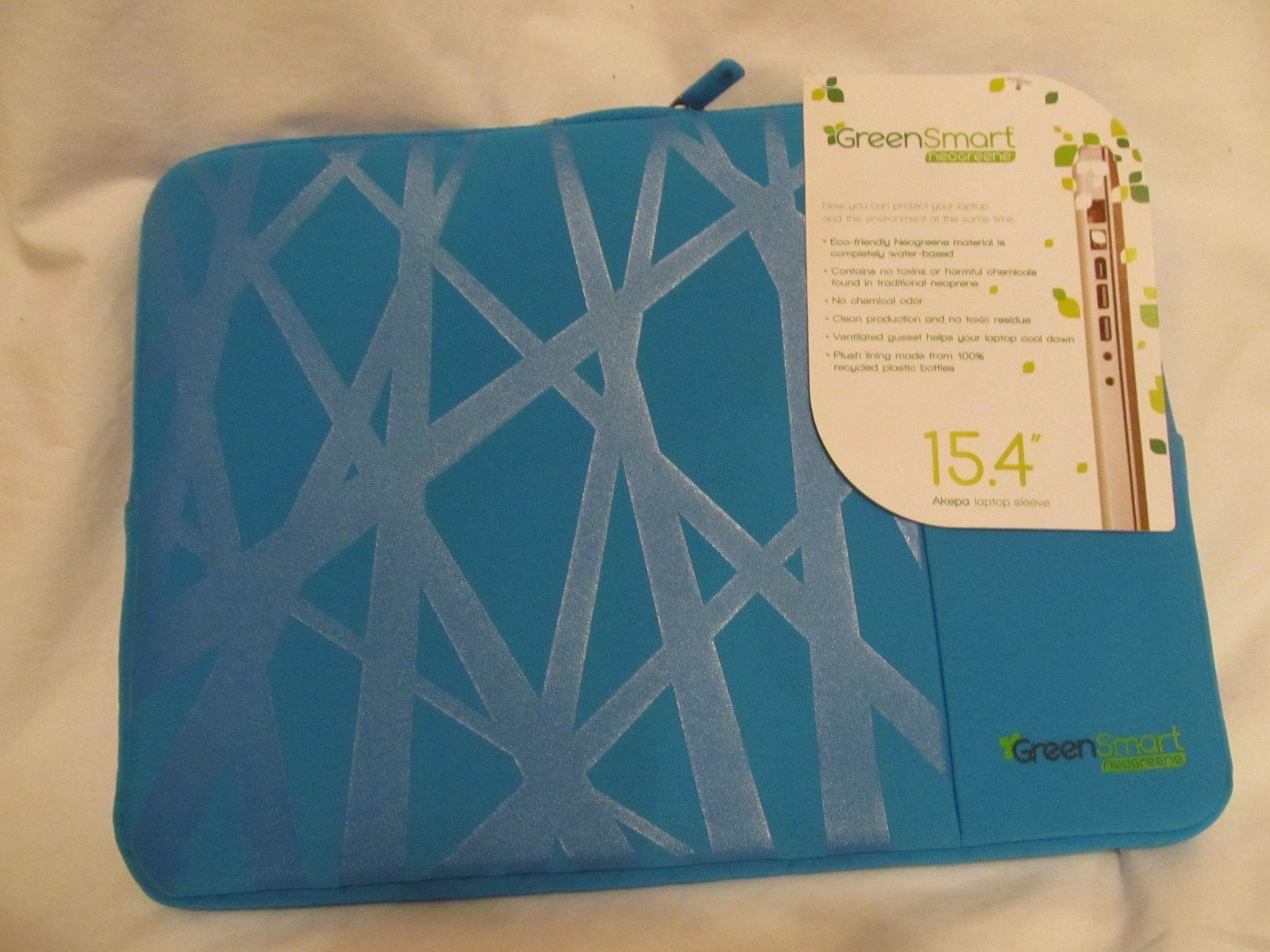 Primary image for GreenSmart Akepa 15.4 inch Laptop/Notebook Bag Blue Ice