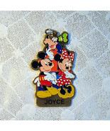 """Walt Disney World """"Joyce"""" Mickey Minnie Keychain  - $4.50"""