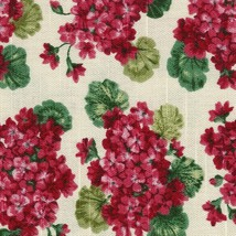 Longaberger Window Box Liner in Geranium Fabric - $10.72