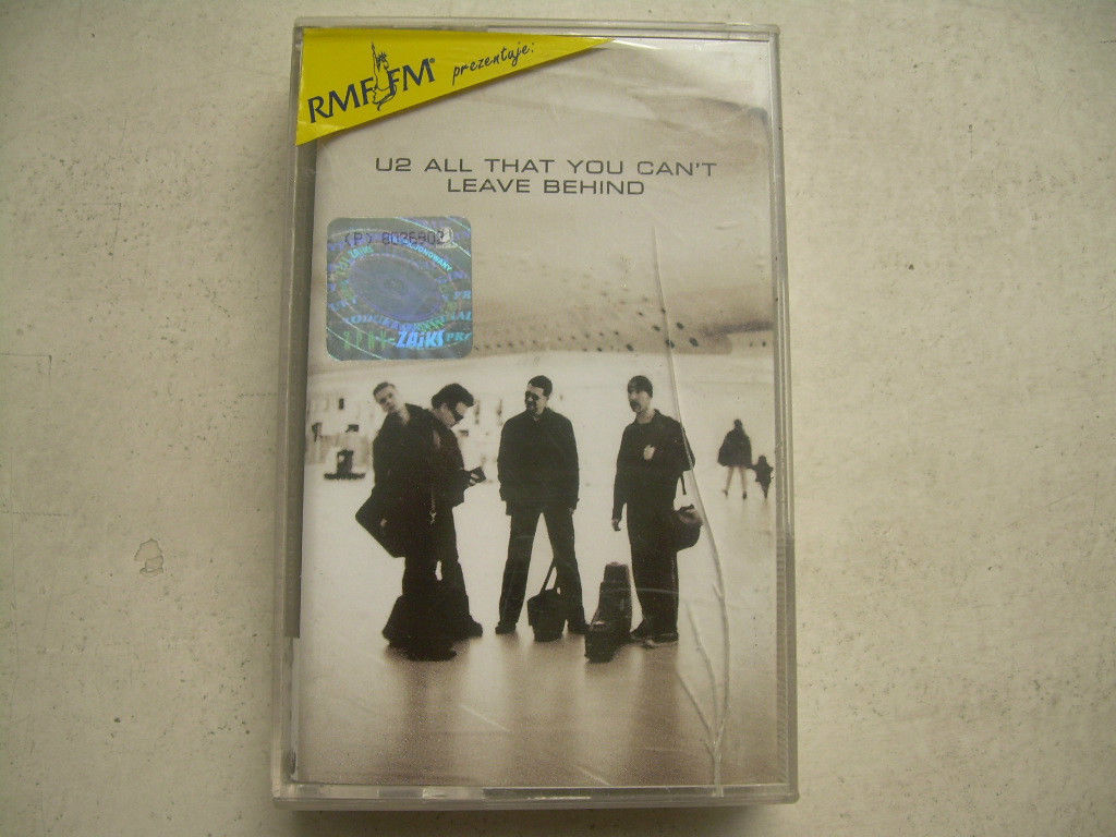 Primary image for U2 All That You Can't Leave Behind Cassette Polish Release Made In Poland