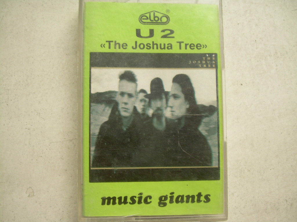 Primary image for U2 The Joshua Tree  Cassette Polish Release Made In Poland