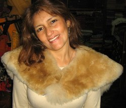 Alpaca fur stola,shawl   - $173.00
