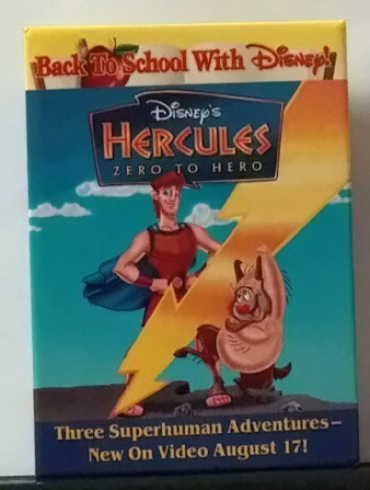 Collectible Disney Movie Video Promotional Pin Set