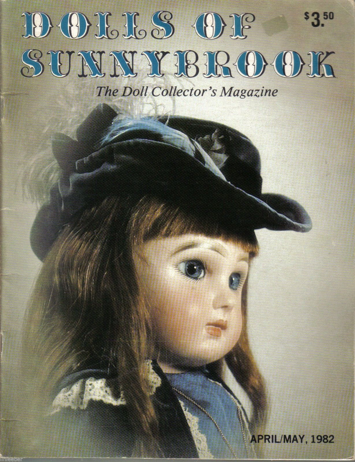 Primary image for Dolls Of Sunnybrook-The Doll Collector's Magazine;April/May 1982.Volume 2,Issue1