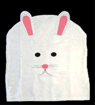 White Pink Felt EASTER BUNNY RABBIT CHAIR COVER Spring Holiday Party Dec... - $3.93