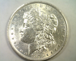 1879 MORGAN SILVER DOLLAR CHOICE ABOUT UNCIRCULATED CH. AU NICE ORIGINAL... - $54.00