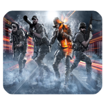 Mouse Pad Battlefield Shooter Video Game Fire War For Popular Animation ... - $4.00
