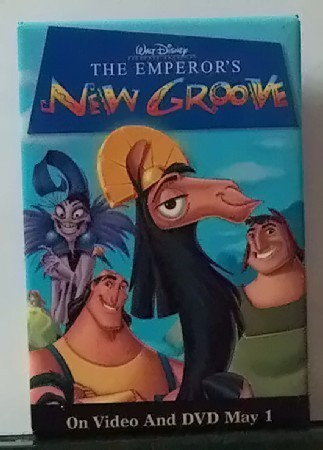Movie button the emperors new groove