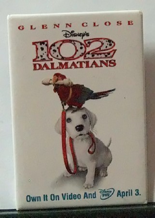 Collectible Disney Movie Video Promotional Pin Set of Three