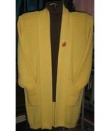 Cardigan and turtleneck sweater made of Alpaca wool  - $170.00