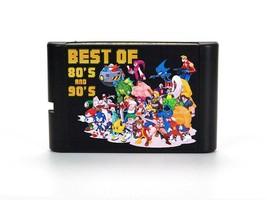 Sega Multicart 196 in 1 Sega Genesis Mega Drive Game Cartridge 16-Bit Cart - $23.75
