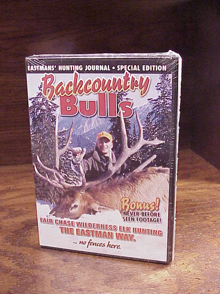 Primary image for Backcountry Bulls DVD, Eastmans' Hunting Journal Special Edition, sealed