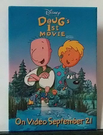 Collectible Disney Movie Video Promotional Pin
