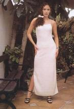 White long dress,100% ecological Pyma cotton  - $99.00