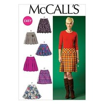 McCall's Patterns M7022 Misses' Skirts, E5 (14-16-18-20-22) - $14.21
