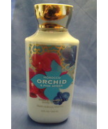 Bath and Body Works New Morocco Orchid and Pink Amber Body Lotion 8 oz - $9.95