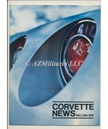 Corvette News Dec/Jan 1974 - $9.75