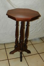 Solid Walnut Lamp Table / Plant Stand  (T400) - $299.00