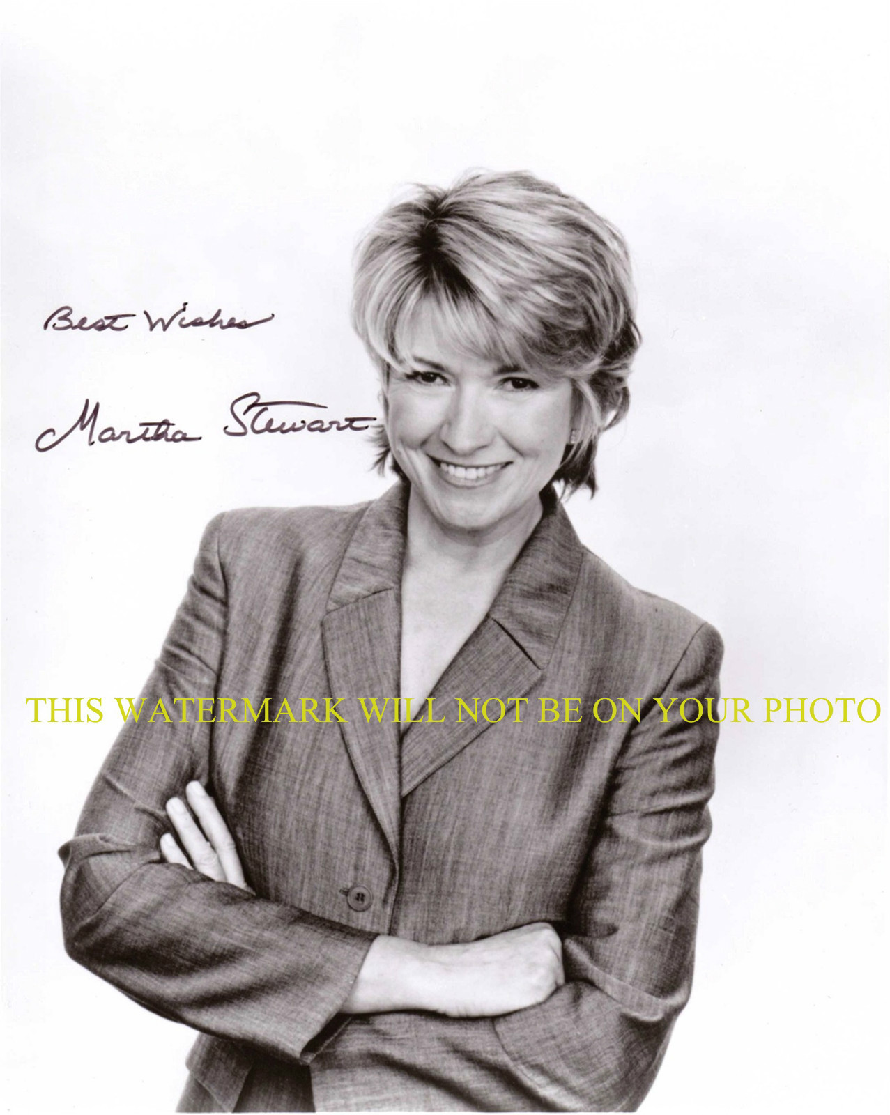 Primary image for MARTHA STEWART AUTOGRAPHED AUTO 8x10 RP PHOTO BEAUTIFUL SUCCESSFUL