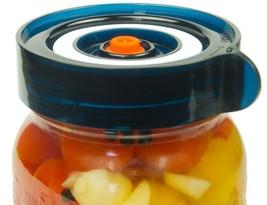 Wide Mouth Lid Refill Fermenter Food Saver Replacement Blue 4pcs Kit Set... - $46.28