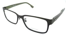 Diesel Rx Eyeglasses Frames DL4098 098 57-18-145 Olive / Grey Denim - $54.85
