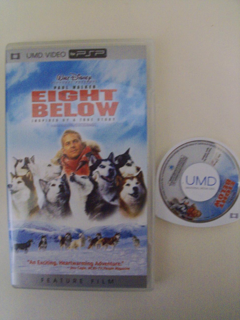 Eight Below UMD video PSP Playstation Portable