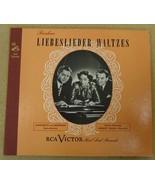 RCA Victor Brahms Liebeslieder Waltzes Record A... - $26.13