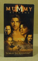 Universal The Mummy Returns VHS Movie  * Plasti... - $4.69