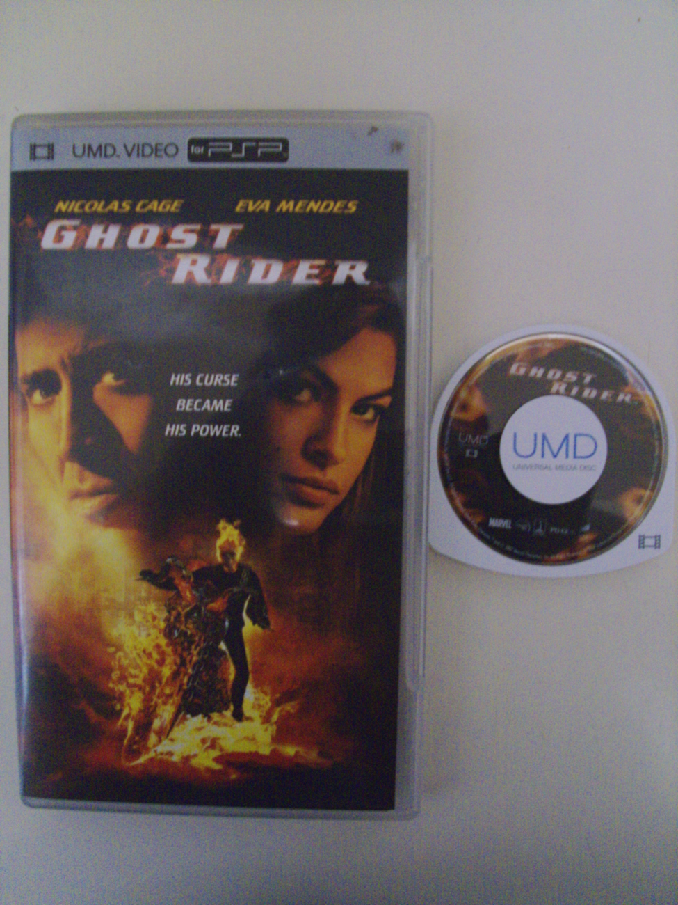 Ghost Rider movie UMD video PSP Playstation Portable