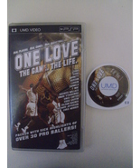 One Love, The Game. The Life. UMD video PSP Playstation Port - $5.00