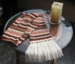 Soft Scarf, Alpaca wool, peruvian designed shawl - ₨3,157.20 INR