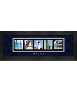 Maine (State) Framed Letter Art - $39.95