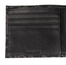 Calvin Klein Ck Men's Classic Leather Coin Case Id Wallet Black 79463 image 6