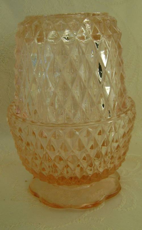 Primary image for Diamond Point Fairy Candle Holder